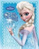 El Reino del hielo, Frozen - Elsa Láminas