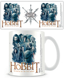 The Hobbit 5 Armies - Montage Mug Krus
