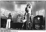 Led Zeppelin – Earls Court 1975 Kunstdrucke