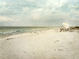 Early Morning on Beautiful Gulf of Mexico Beach Fotografie-Druck von  forestpath