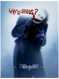 The Dark Knight - Why So Serious Affiche originale
