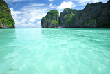 Beautiful Lagoon at Phi Phi Ley Island, the Exact Place Where the Beach Movie Was Filmed Photographic Print by  haveseen