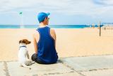 Dog and Owner Valokuvavedos tekijänä Javier Brosch