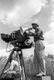 Alberto Lattuada on the Set Reproduction photographique par Mario de Biasi