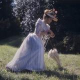 Laura Antonelli on the Set of the Innocent Fotografisk trykk av Marisa Rastellini
