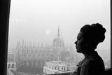 Renata Scotto by the Window Reproduction photographique par Mario de Biasi