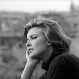 Close-Up of Ilaria Occhini Fotografisk trykk av Marisa Rastellini