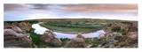 A bend in the Milk River, Writing-on-stone Provincial Park, Alberta, Canada Prints by Tim Fitzharris