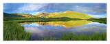 Mt Bierstadt as seen from Guanella Pass, Colorado Poster by Tim Fitzharris