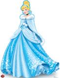 Cinderella Holiday - Disney Lifesize Standup Cardboard Cutouts