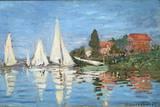 Regattas at Argenteuil by Claude Monet Photographic Print