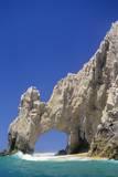 El Arco, Sea Arch at Cabo San Lucas Fotografisk tryk af Kerrick James