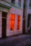 Orange Window Reproduction photographique par André Burian
