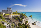 El Castillo of Tulum Reproduction photographique Premium par José Fuste Raga
