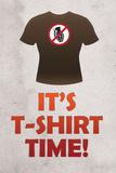 Jersey Shore It's T-Shirt Time TV Poster Print Prints