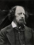 Poet Alfred Tennyson Lámina fotográfica por Julia Margaret Cameron