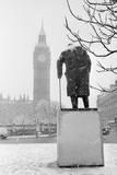 Winston Churchill by Ivor Roberts-Jones Lámina fotográfica