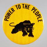 Black Panther Pin Fotografie-Druck von David J. Frent