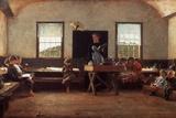 Winslow Homer: the Country School Impressão fotográfica