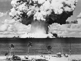 Mushroom Cloud over Bikini Atoll Photographic Print