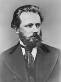 Composer Peter Ilich Tchaikovsky Reproduction photographique