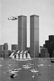 Twin Towers and Spanish Schooner Reproduction photographique