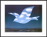 La Promesse Prints by Rene Magritte