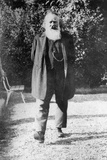 Johannes Brahms Going for a Stroll Outside Photographic Print