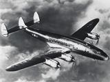 USAF Lockheed Constellation Transport Airplane Fotografie-Druck