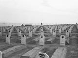 US Marine Corps Cemetery Photographic Print by Edward Steichen