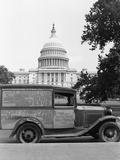 Itinerant's Truck Fotografie-Druck von John Vachon