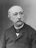 Portrait of Alexandre Becquerel Fotoprint van  Nadar