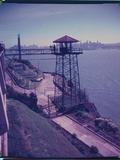 Alcatraz Prison from Guard Tower Photographic Print