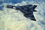 British Vulcan Bomber Fotografisk trykk