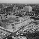 Aerial View of Yankee Stadium Fotografisk trykk