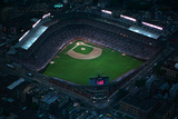 Wrigley Field from Overhead Reproduction photographique