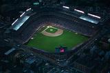 Wrigley Field from Overhead Fotografisk trykk