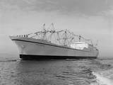 Cargo Ship Savannah Photographic Print by Ray Krantz