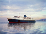 The Malaspina is an Alaskan Ferry Photographic Print by Ray Krantz