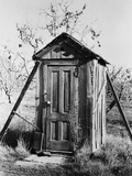 Outhouse on A Farm Photographic Print