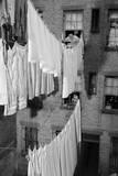 Laundry Drying on Lines Fotografisk trykk av Philip Gendreau