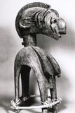 Tribal Mask from Guinea Fotografisk tryk