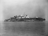 View of Alcatraz from Afar Photographic Print