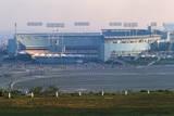View of Dodgers Stadium Lámina fotográfica