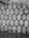 Barrels of Beer Fotografisk tryk