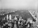 Aerial View of Central Park Impressão fotográfica