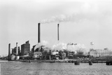Paper Mill Fotoprint av Philip Gendreau