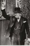 Winston Churchill Fotografisk trykk