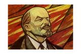 Lenin, Russian Bolshevik Revolutionary Giclee-trykk