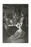 Illustration from Les Misérables, 19th Century Giclee Print by Alphonse Marie de Neuville